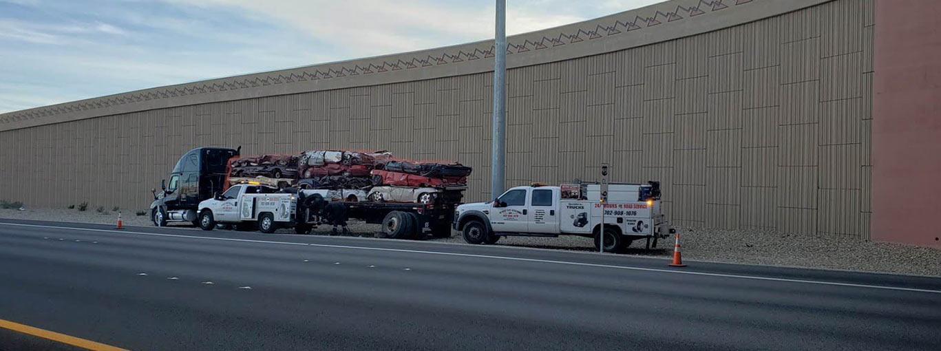 24/7 Mobile Truck & Trailer Repair near Las Vegas NV