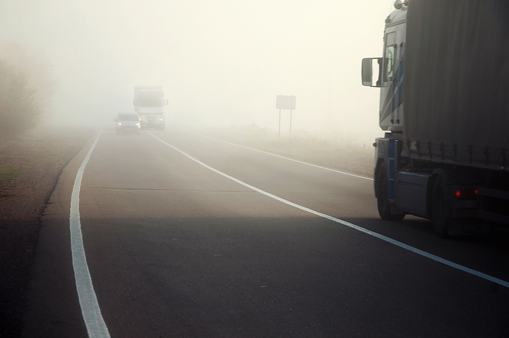 Avoid Bad Weather to Prevent Truck Accidents