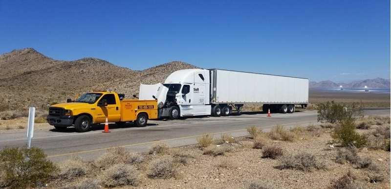 24-Hour Roadside Repair for Semi-Trailer Trucks Only